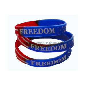 Customized Silicone Hand Bands Rubber Wristband and Bracelet pictures & photos