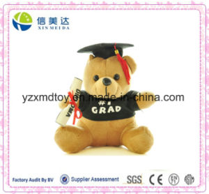 Cute Plush Doctor Bear Doll Student Gift pictures & photos