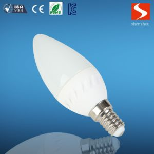 SMD LED Candle Bulb White 3W with E14 Base pictures & photos