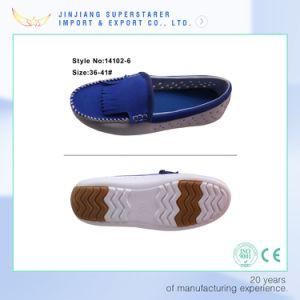 Blue EVA Slip on Soft Loafer Women pictures & photos