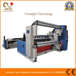 Hot Sale Shaftless Fiber Glass Mesh Slitting Machine Glass Paper Slitter Rewinder pictures & photos