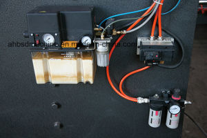CNC V Groover Machine for Burglar Proof Door pictures & photos