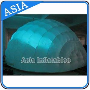 12m Diameter Inflatable Dome Tent / Inflatable Event Tent for Stage with Lighting pictures & photos