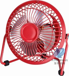 "4"" High Velocity Fan, Mini Desk Fan pictures & photos"