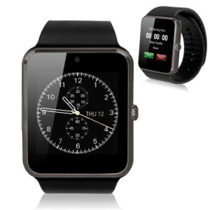 New Smart Wrist Watch Phone Bluetooth for Android Samsung HTC LG Gold pictures & photos