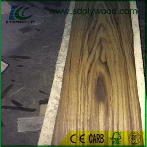 Natural Wood Veneer Crown Cut Burma Teak for Boards pictures & photos