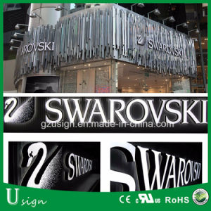 High Quality LED Front Lit Acrylic Stainless Steel Sign Letters pictures & photos