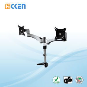 Easy Adjust Desk Mount Dual Monitor Stand HK-Fe122c pictures & photos
