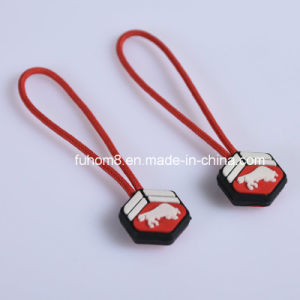 Custom Design Silicone Zipper Puller for Garment pictures & photos
