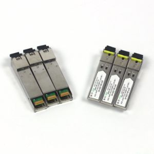 Customized 40km 1490/1550nm Bidi Sc Interface SFP Optical Transceiver pictures & photos