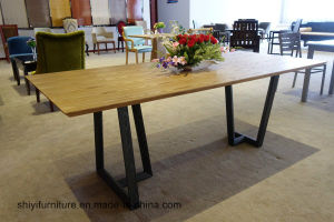 Rectangle Table and Chairs for Dining Furniture pictures & photos