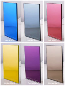 3-6mm Double Coated Silver Mirror, Color Mirror (EGSL031) pictures & photos