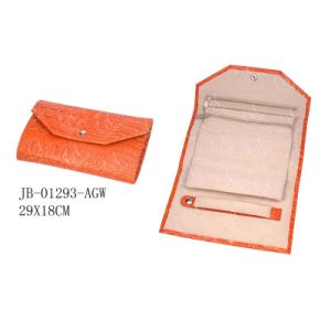 Orange Jewelry Roll Promotion for Ladies pictures & photos