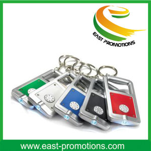 Plastic Bottle Opener LED Keychain for Promotional pictures & photos