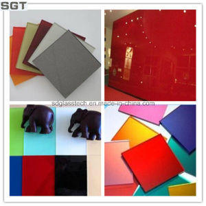 5mm Double Paint Coated Splashback Lacquered Glass pictures & photos