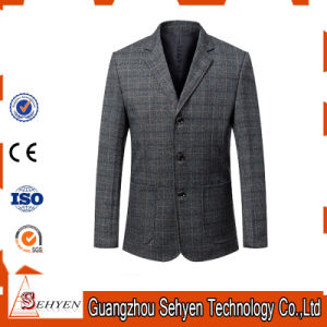 Italian Fit Slim Business Men Suits for Groom of Wool pictures & photos