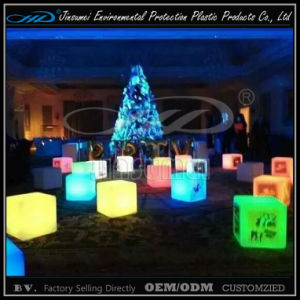 LED Lighting Furniture Cube Stool for Bar Decor pictures & photos