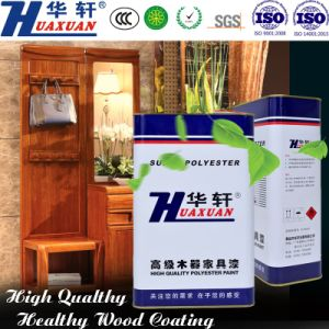 Huaxuan PU Classic and Useful Glossy White Top Coat Wooden Furniture Paint pictures & photos