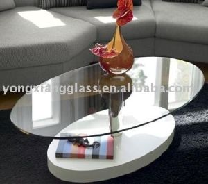 High Quality Colors Printing Tempered Glass Office Furniture Glass Manufacturer pictures & photos