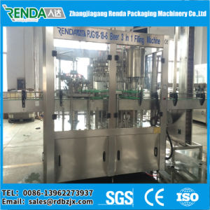 Factory Price 3 in 1 Beer Bottle Filling Machine Price pictures & photos