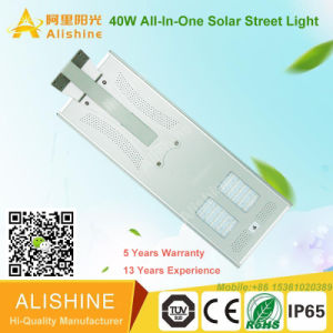 High Brightness Waterproof COB LED Solar Street Lighting 40W pictures & photos