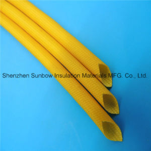High Voltage Cable Protection Silicone Insulation Fiberglass Sleeving 2.5kv pictures & photos
