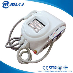 2 Handles Portable Elight ND YAG Laser Skin Whitening Machine Home Use pictures & photos