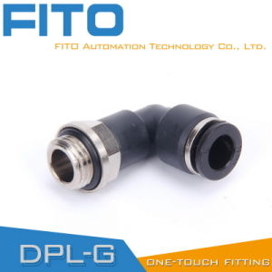 China Manufacturer Pl Pneumatic G-Thread Fittings with Nickel Plated and O-Ring Pl8-02 pictures & photos