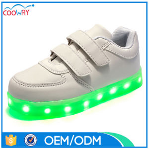 2017 New Design Unisex LED Sneakers Comfortable Men Shoes