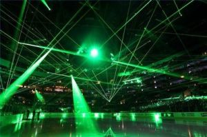 Decorative DJ Disco Stage Laser Beam Lights with Animation pictures & photos