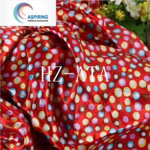 Polyester Printed Cheap Satin Fabric pictures & photos