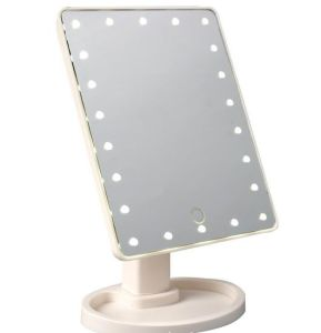 22 LED Makeup Mirror Tabletop Lighted Cosmetic Vanity Mirrors pictures & photos