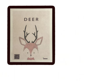 2017 New Trending Suede Velvet Fabric Mouse Pad