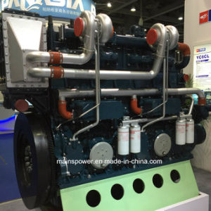 925HP 1350rpm Marine Diesel Engine for Fishing Boat Dredger Boat pictures & photos
