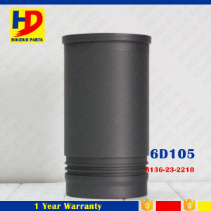 6D105 Cylinder Liner Excavator Engine (6136-21-2210) pictures & photos