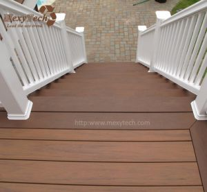 Ce Durable Waterproof Recycle WPC Composite Terrace Decking pictures & photos