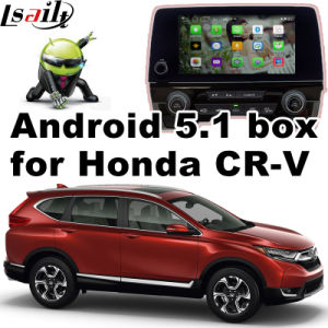 Android 5.1 GPS Navigation System Video Interface for Honda Cr-V Touch Android System Navigation Rear View Mirror Link pictures & photos