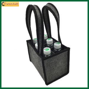 Hot Selling Felt Beer Bottle Bag Wine Bag for 6 Bottles (TP-WB107) pictures & photos