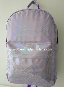 Shinny PVC Leather Backpack for Traveling