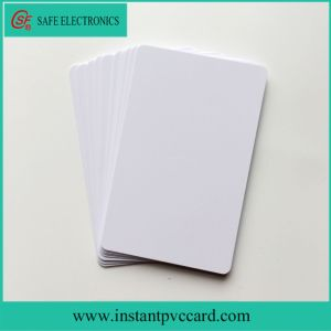 Both Sides Printable Ink Printing PVC Card 20mil pictures & photos