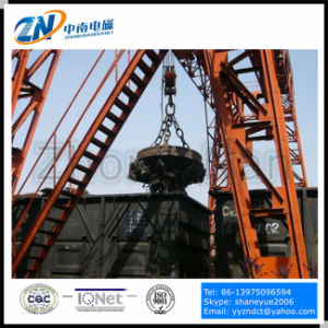 Scrap Lift Magnet for 16t Crane with 1750kg Lifting Capacity for Pig Iron MW5-150L/1 pictures & photos