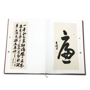 Hardcover Chinese Calligraphy Custom Photo Book for Gift pictures & photos
