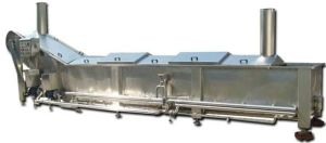 Automatic Continuous Blanching Machine for Quick Freezing or Drying Production pictures & photos