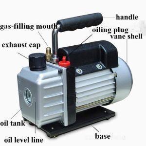 0.5L Single-Stage Rotary Vacuum Pump 50Hz-0.8cfm/60Hz-1cfm pictures & photos