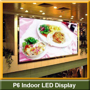 SMD 3-in-1 Full Color P6 Indoor LED Display