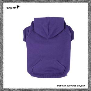 Purple Plain Purified Cotton Dog Hoodies (SPH6001-2) pictures & photos