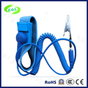 PVC Single Loop ESD Antistatic Wrist Strap (EGS-503) pictures & photos