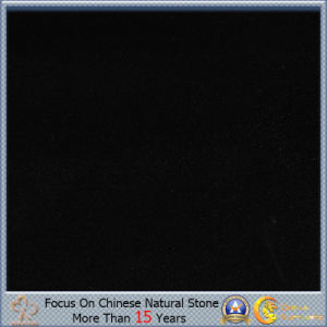 Polished Shanxi Black of Pure Black Granite Tiles or Tombstone