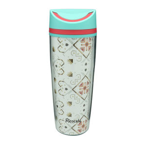 Plastic Double Wall Water Bottle 350ml pictures & photos