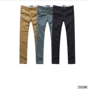 2016 Hot Sale 100%Cotton Men′s Leisure Pants pictures & photos